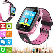 GPS Tracker Smart Watch Phone Kids Baby Bracelet Camera for Girls Boys Toys Gift