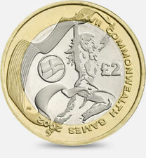 2002 Commonwealth Games £2 Coin