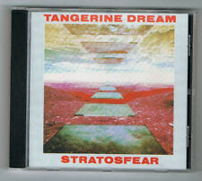 ♫ - TANGERINE DREAM - STRATOSFEAR - CD 4 TITRES - 1976 - COMME NEUF - ♫