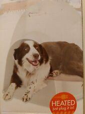 Large Dog Pet House Igloo Mat Pad Heated Warmer Bed Orthopedic Indoor Outdoor