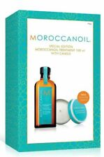 Moroccan Oil Hair Treatment Light 100ml with candle