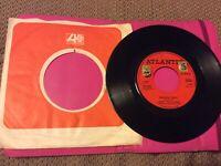 "Crosby, Stills & Nash, Marrakesh Express/ Helplessly Hoping 7"" vinyl 1969"