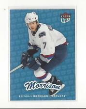 2006-07 Ultra Ice Medallion #192 Brendan Morrison Canucks 060/100
