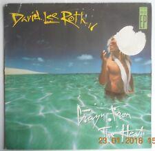 DAVID LEE ROTH - CRAZY FROM THE HEAT VINYL ORIGINAL // 1988 // RARE