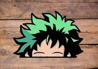 My Hero Academia Midoriya Colour Print Wall Funny Anime Art Decor Vinyl Sticker