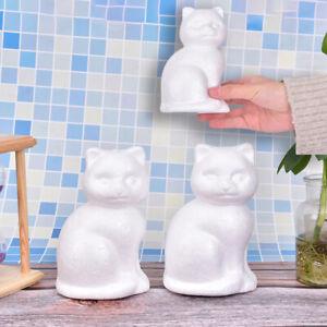 1PC New Modeling Animals Shape White Foam Balls For DIY Gift Festiv PO