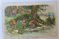 """""""Pfingsten, Frühling, Zwerge"""" 1900   ♥  (15399)"""