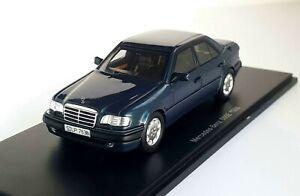 Mercedes-Benz 500 E (W124 ) darkgreen-metallic 1986 Spark  [B6 604 1020}