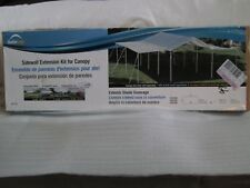 Brand New 7 x 20 Foot ShelterLogic MaxAP Canopy Extension Kit  White # 25730