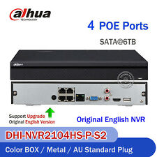 Dahua 4CH Dahua NVR2104H H.264 PoE P2P 1U HDMI/VGA CCTV NVR Recorder Home System