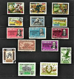 LIBERIA... LOVELY STAMPS