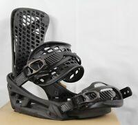 Burton Genesis EST Snowboard Bindings Large Matty Black (US 10+) New