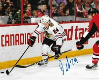 Dominik Kahun Autographed Signed 8x10 Photo ( Blackhawks ) REPRINT