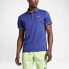 b21302924 NikeCourt tennis polo shirt - Dri-Fit adult S in paramount blue & ghost  green