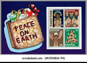 BAHAMAS - 1980 CHRISTMAS - MINIATURE SHEET MINT NH