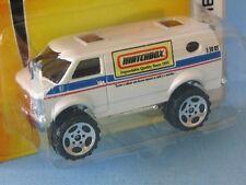 MATCHBOX CHEVROLET 4x4 Van corps blanc qualité depuis 1953 jouet modèle de voiture en BP