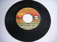The New Colony Six Come On Down / Someone, Sometime 1971 45rpm GARAGE