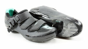 Specialized Torch Road Cycling Shoes Women's US 5.75 EUR 36 Black/Green 3 Hole
