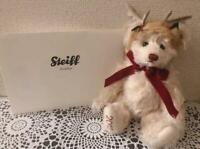 F/S Steiff Little Santa Rudolph 2012 Japan Limited Teddy Bear Reindeer X'mas
