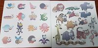 30 fun kids animal temporary tattoos BUY 5 AND GET 5 FREE. PARTY BAG FILLERS