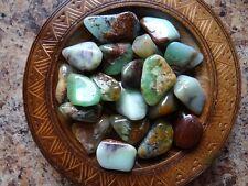 CHRYSOPRASE 1/4 Lb Gemstone Specimens Tumbled Wiccan Pagan Metaphysical