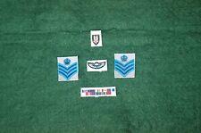 1/6 modern SAS C/Sgt stripes wings badges and medal ribbon set lot