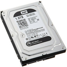 Western Digital Noir 1TB (7200rpm) SATA 6Gb/s 64MB 8.9cm Disque Dur (Interne)