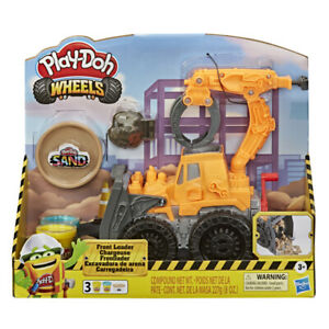 Play Doh Wheels Front Loader Play Set