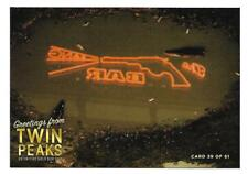 TWIN PEAKS GOLD BOX POSTCARD #39 BANG BANG BAR