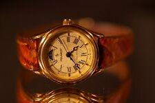 Vintage Paul Peugeot Women's Quartz Watch W/ Day Night Indicator, Serviced 7-17