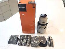 Sony SAL70400 F/4-5.6 II SSM G Lens - G2 Series 70 - 400 mm Alpha Mount