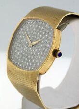 Baume et Mercier Classic 14k Yellow Gold Diamond 30mm Vintage watch.