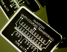 McIntosh Tube Amplifier Transformer  MC60 top DECAL SET NEW!