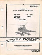 H-5/HO3S-1 Flight Operating Instructions Flight Handbook Flight Manual  -  CD