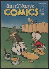 Walt Disney COMICS and Stories #72, 1946, Dell Comics