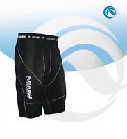 MENS black Compression Baselayer under Skin Thermal Shorts