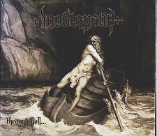 DARK LAY STILL - THROUGH HELL...(*NEW-CD, 2009, Bombworks) Christian Black Metal