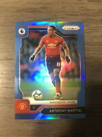 2019-20 Panini Prizm Premier League Anthony Martial Blue Prizm #94/199