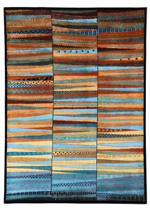 """New Traditional Hand-Knotted 5.7"""" x 5.10"""" Parsian Style Woollen Area Rugs Carpet"""