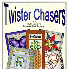 TWISTER CHASERS Learn Method with Five Twister Style Quilt Patterns NEW BOOK