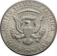 1964  President John F. Kennedy Silver Half Dollar United States USA Coin i44615