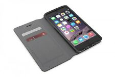 Tucano Leggero booklet Cover Case iPhone 6 Plus leather card slots Black
