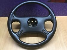 LAND ROVER DISCOVERY 1 XS BLACK LEATHER STEERING WHEEL 300Tdi V8