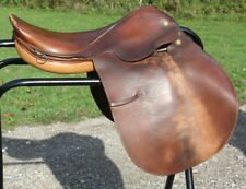 """Used 17"""" Collegiate Close Contact Jumping English Saddle. Quality Horse Tack"""