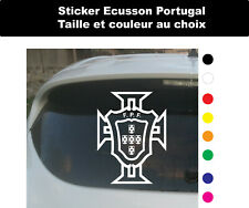 Sticker Autocollant Portugal Ecusson Football  Adhesif