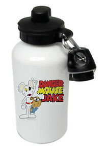 Danger Mouse - Personalised Kids/Drinks/Sports Childrens Water Bottle