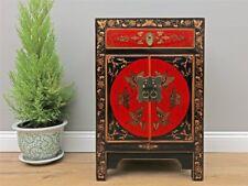 Chinesische Kommode Hochzeitschrank Massivholz mit echt Hand Bemalung Y583