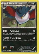 Honchkrow Rare Pokemon Card BW6 Dragons Exalted 73/124