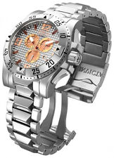 Swiss Made Invicta 15314 Reserve Excursion Chronograph SS Grey Dial Men's Watch
