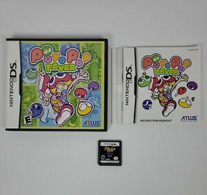 Puyo Pop Fever (Nintendo DS, 2005) CIB Complete w/Manual